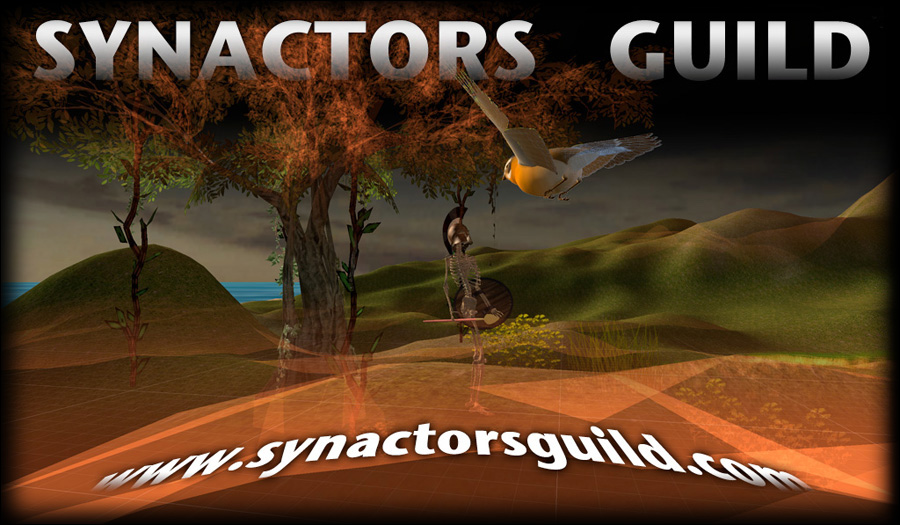 Synactors Guild Splash Screen Image. Click to enter the site.